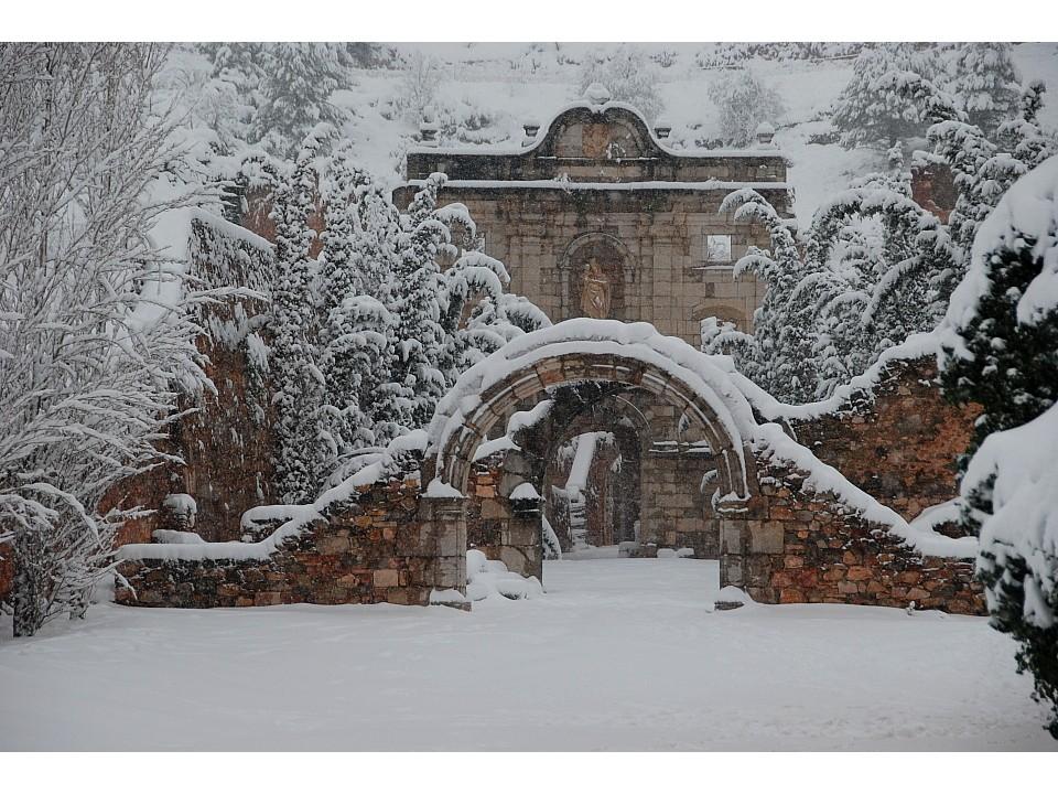 Winter im Priorat