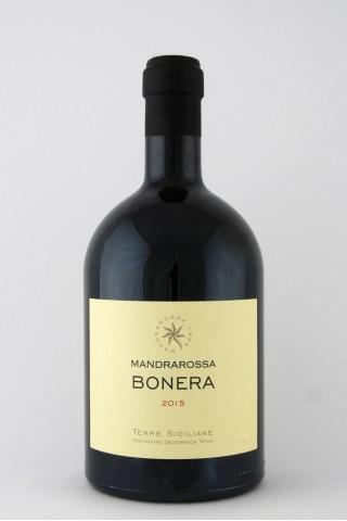 Bonera Rosso Magnum Sicilia IGT Mandrarossa, 2015