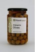 Arbequina Oliven im Salzwasser, 220 g